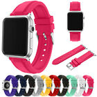 Replacement Silicone Sport Watch Band Bracelet Strap For Apple Watch iWatch