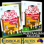 (Wii Game) Big Brain Academy for Wii (G) (Educational) PAL,  Guaranteed,  Cleaned