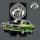 Dodge Charger Super Bee Muscle Car B Chrysler Licensed Tee T-Shirt Front $17.99 USD on eBay