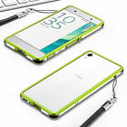 Luxury Slim Aluminum Alloy Metal Frame Bumper Hard Case Shell For Sony Xperia X