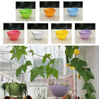 New Home Garden 7Color Resin Hanging Chain Planter Flower Pot Basket Plant Decor