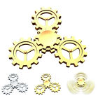 FOUR GEARS ALLOY FIDGET HAND TRI SPINNER SPINNERS FINGER GYRO CHILD TOY SPECIAL