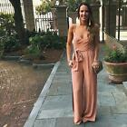 Women Summer Playsuit Bodycon Party Harness Jumpsuit Romper Trousers Pants New