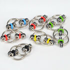 Key Ring Fidget Hand Finger Chain Spinner Tri-Spinner EDC Autism Stress ADHD Toy