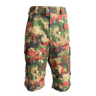 Swiss Army Surplus Alpenflage Camo Combat Shorts - Unissued