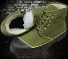WINTER WARM MILITARY BOOTS ARMY SURPLUS WINTER SHOES  OUTDORR WORKING WARM SHOES