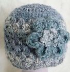 PREEMIE BABY GIRLS CROCHETED HAT photoprop knit small early micro shower 3 anna