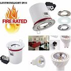 4 x FIRE RATED LED IP20 Includes GU10 5W K3000 Ceiling Spotlights Downlights