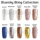 Bluesky BLING COLLECTION Glitter UV/LED Soak Off Gel Nail Polish Free Postage