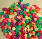 20/50/100 x 10mm Resin Flower Flatback Cabochons Rose Assorted Mixed NO HOLE