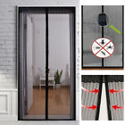 Hands Free Mesh Magnetic Screen Net Door with Magnets Anti Mosquito Bug Curtain
