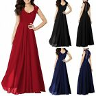 Women Formal Long Lace Dress Prom Cocktail Evening Party Bridesmaid Wedding Gown