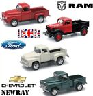 BRAND NEW G SCALE NEWRAY DIE CAST PICK-UP TRUCKS WITH OPENING DOORS 1:32 GAUGE