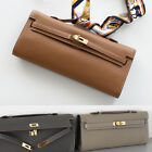 TOGO CLUTCH / GOLD HARDWARE ~[made in Korea] Genuine Leather Womens Kelly bag