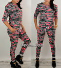 Overall Damenoverall Jumpsuit Sport Anzug Hose + Bluse MORO