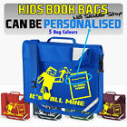 IT'S ALL MINE - Kids School Book Bag w/ Shoulder Strap - Optionally Personalised