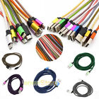 3M/10FT Data Sync Fast Charging Charger Cable Micro USB Cord For Samsung Android