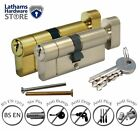 T32/32 (T27/10/27) Thumb Turn Anti Snap Euro Cylinder Lock - High Security