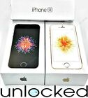 Apple iPhone SE 16GB 32GB 64GB (UNLOCKED) T-Mobile AT&T Rose Gold Gray *NEW* (W)