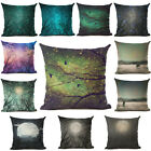 Luminous  Cushion Cover Moon Night Star Tree twigs Mysterious Pillow  Decorative