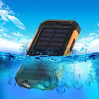 USA Waterproof 50000mah Power Bank 2 LED 2 USB Battery Charger For iPhone For MI