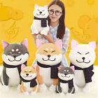 Scarf Akita Dog Doll Shiba Plush Toys Soft Stuffed Sofa Cushion Pillow Kids Gift