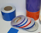 "1"" x 150 ft Roll Vinyl Pinstriping Vinyl Striping Tape 25 Colors Available"