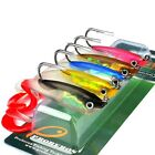 5 Colors/Lot Soft Plastics Lead Fishing Lures Baits Atificial Lures Crankbaits