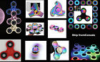 LED Fidget Spinner Rainbow Hand Lights EDC Stress Relief Focus Adult Toy Kids