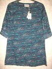 SEASALT CORNWALL SILVERSHELL TUNIC DRESS BLUE PORT QUIN SQUALL  RRP £49.95 NEW