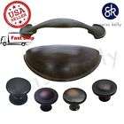 New Oil Rubbed Bronze Kitchen Hardware Cabinet Drawer Handles Cup Pulls Knobs