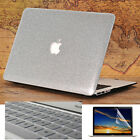 """3in1 Silver Bling Shiny Glitter Leather Case for MacBook 11""""Air Pro 13"""" 15"""" 2016"""
