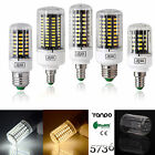 LED Corn Bulb Light 5733 SMD Lamp 7W To 35W E27 E14  Warm Cool White 110V 220V