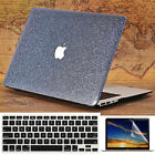 """3in1 Silvery Gray Bling Glitter Leather Case for MacBook 11""""Air Pro 13"""" 15"""" 2016"""