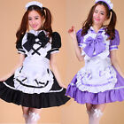 Hot Beauty Uniforms Sailor Maid Outfit Cosplay Party Costume Sexy Bow Cos Dress