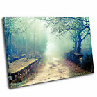 Woodland Landscape Canvas Wall Art Print Picture 46