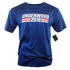 """House of Cards Men's T-shirt """"UNDERWOOD 2016"""" Presidential Elections Campaign"""