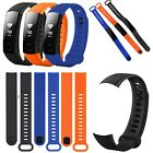 Soft Silicone Rubber Sport Watch Band Strap Bracelet For Huawei Honor Band 3