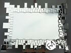 LG Stunning Contemporary Mirror - Multi Facet Random Beveled Mirrors - BROOKLYN