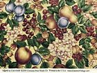 Pears, Plums, Apples, Grapes, Orchard VIP Cranston Cotton Quilt Fabric Craft