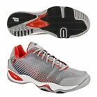 **NEW** MEN'S PRINCE T22 LITE (704: GREY/ BLACK / RED) TENNIS SHOES.