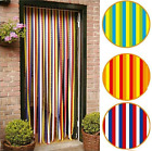 Plastic Door Strip Curtain Stop Fly Mosquito Bugs Insect Striped Blind Screen