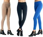 Women's Skinny Pants Slim Fit High Waist Stretchy Legging Fitted Ponte Pants US