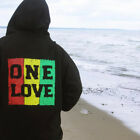 New Rasta Reggae One Love Music Men's Hoodie