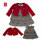 New Ashley baby girls dress cardigan clothing outfit size 3 6 9 12 18 24 months