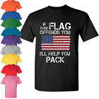Distressed American Flag 4th of July T-shirt Clothing USA Pride Independence day