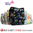 Reusable Nappies Washable Baby Pocket Diaper Stoffwindeln Pañal Couche Pannolini