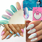 Fab Mermaid Effect Pigment Nail Art Powder Dust Iridescence Trend Glimmer Mirror