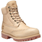 "Timberland A1gbs Men's 6"" Premium Sand Brogue Waterproof Insulated Boots$250."