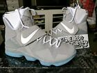 Nike Lebron Xiv 14 Marty Mcfly Mag Summer Pack Matte Silver White 852405-005